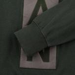 Мужская толстовка Han Kjobenhavn Logo Crew Neck Green фото- 3