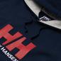 Мужская толстовка Helly Hansen HH Logo Hoodie Navy/Grey фото - 1