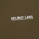 Мужская толстовка Helmut Lang Corner Dart Crew Neck Military фото- 2