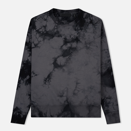 Мужская толстовка Helmut Lang Dart Back Crew Neck Grey/Black