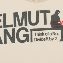 Мужская толстовка Helmut Lang Standard Hoodie Pelvis Generic Pearl фото- 2