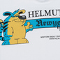 Мужская толстовка Helmut Lang Standard Hoodie Radio Generic Chalk White фото - 2
