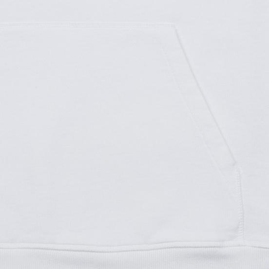 Мужская толстовка Helmut Lang Standard Hoodie Radio Generic Chalk White