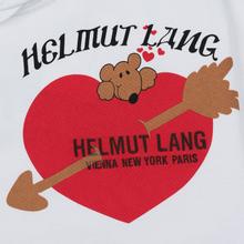 Мужская толстовка Helmut Lang Standard Hoodie Valentine Chalk White фото- 2