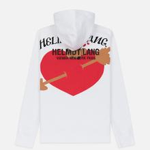 Мужская толстовка Helmut Lang Standard Hoodie Valentine Chalk White фото- 5