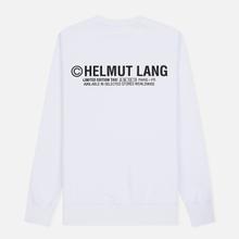 Мужская толстовка Helmut Lang Taxi Crew Neck White фото- 1