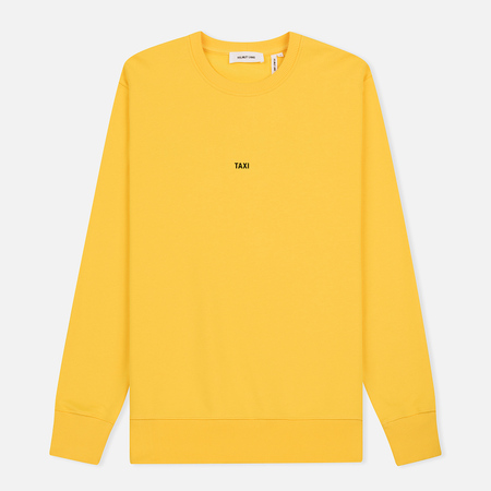 Мужская толстовка Helmut Lang Taxi Crew Neck Yellow