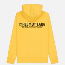 Мужская толстовка Helmut Lang Taxi Hoodie Yellow фото- 1