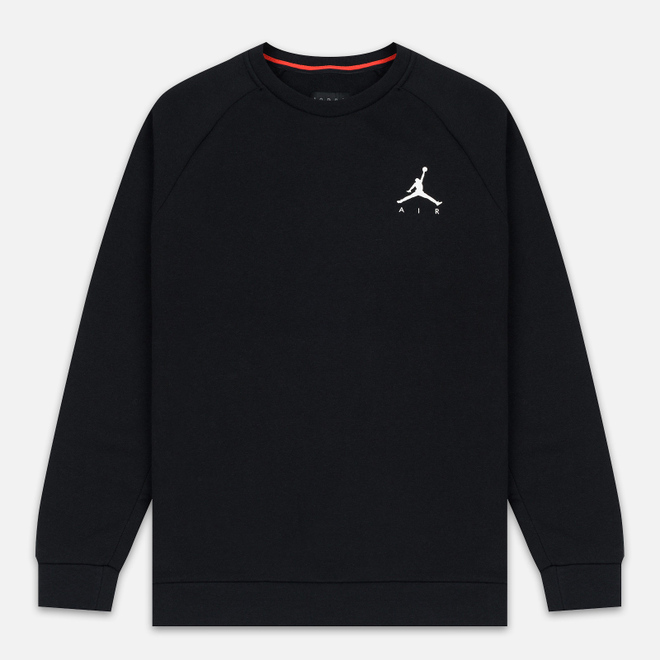 Мужская толстовка Jordan Jumpman Air Fleece Crew Black/White