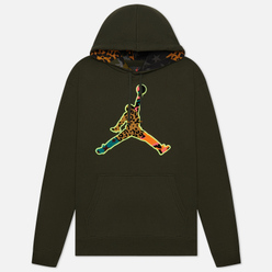Мужская толстовка Jordan Jumpman Animal Instinct Fleece Hoodie Sequoia