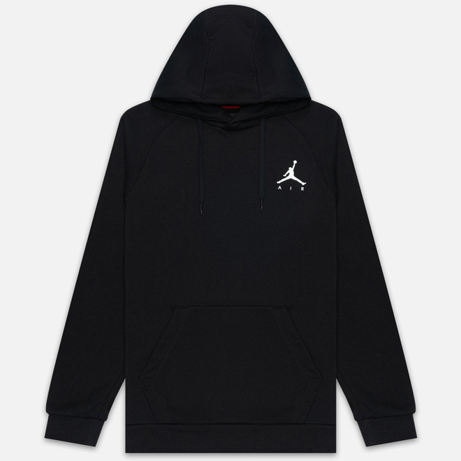 Мужская толстовка Jordan Jumpman Fleece Black/White