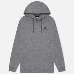 Мужская толстовка Jordan Jumpman Fleece Carbon Heather/Black