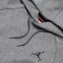 Мужская толстовка Jordan Jumpman Fleece Carbon Heather/Black фото- 1