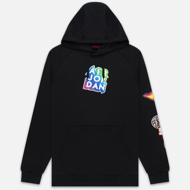 Мужская толстовка Jordan Jumpman Sticker Hoodie Black