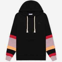 Мужская толстовка JW Anderson Colourblock Sleeves Hoodie Black