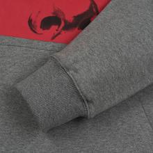 Мужская толстовка JW Anderson Eyes Printed Hoodie Light Grey Melange фото- 4