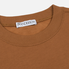 Мужская толстовка JW Anderson JWA Embroidery Logo Cinnamon фото- 1