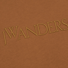 Мужская толстовка JW Anderson JWA Embroidery Logo Cinnamon фото- 2