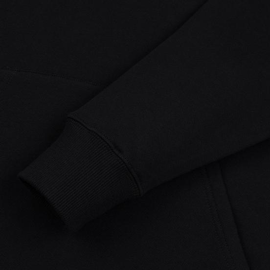 Мужская толстовка JW Anderson JWA Embroidery Logo Hoodie Black
