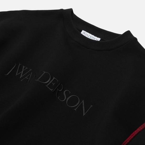 Мужская толстовка JW Anderson JWA Logo Embroidery Black
