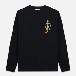 Мужская толстовка JW Anderson Oversized Sleeves Placket Black