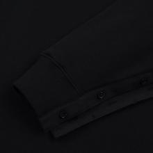 Мужская толстовка JW Anderson Oversized Sleeves Placket Black фото- 3