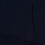 Мужская толстовка Lacoste Big Logo Hoodie Navy Blue фото- 4