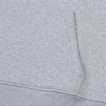 Мужская толстовка Lacoste Big Logo Hoodie Silver Chine фото- 4