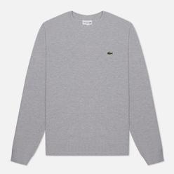Мужская толстовка Lacoste Cotton Pique Fleece Crew Grey Chine