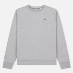 Мужская толстовка Lacoste Crew Neck Fleece Silver Grey Chine фото- 0