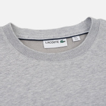 Мужская толстовка Lacoste Crew Neck Fleece Silver Grey Chine фото- 1