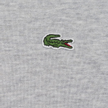 Мужская толстовка Lacoste Crew Neck Fleece Silver Grey Chine фото- 2
