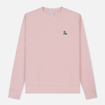 Мужская толстовка Lacoste Crew Neck Palm Tree Croc Light Pink фото- 0