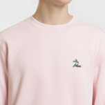 Мужская толстовка Lacoste Crew Neck Palm Tree Croc Light Pink фото- 2