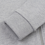 Мужская толстовка Lacoste Full Zip Hoody Silver Grey Chine фото- 4