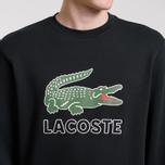 Мужская толстовка Lacoste Graphic Croc Logo Black фото- 3