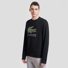 Мужская толстовка Lacoste Graphic Croc Logo Black фото- 1