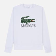 Мужская толстовка Lacoste Graphic Croc Logo White фото- 0