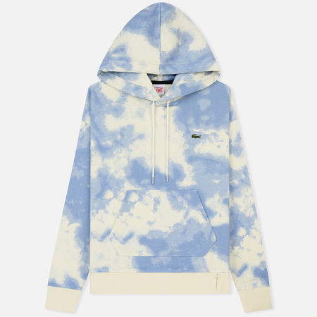 Мужская толстовка Lacoste Live Cloud Print Fleece Hoodie Geode/Atmosphere