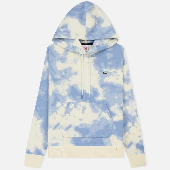 Мужская толстовка Lacoste Live Cloud Print Fleece Hoodie Geode/Atmosphere