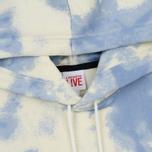 Мужская толстовка Lacoste Live Cloud Print Fleece Hoodie Geode/Atmosphere фото- 1