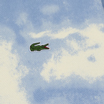 Мужская толстовка Lacoste Live Cloud Print Fleece Hoodie Geode/Atmosphere фото- 2