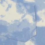 Мужская толстовка Lacoste Live Cloud Print Fleece Hoodie Geode/Atmosphere фото- 4