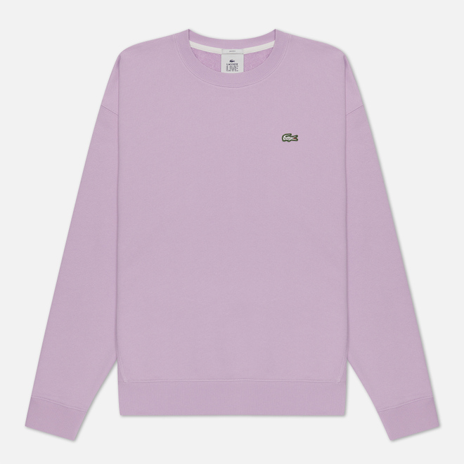 Мужская толстовка Lacoste Live Cotton Fleece Purple