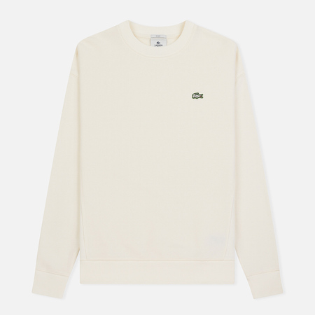 Мужская толстовка Lacoste Live Crew Neck Cotton White