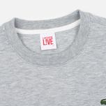 Мужская толстовка Lacoste Live Crew Neck Grey фото- 1