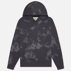 Мужская толстовка Lacoste Live Embroidered Logo Hoodie Granite/Graphite