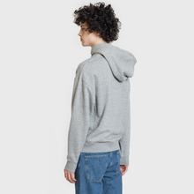 Мужская толстовка Lacoste Live Hooded Zippered Cotton Grey Chine фото- 2