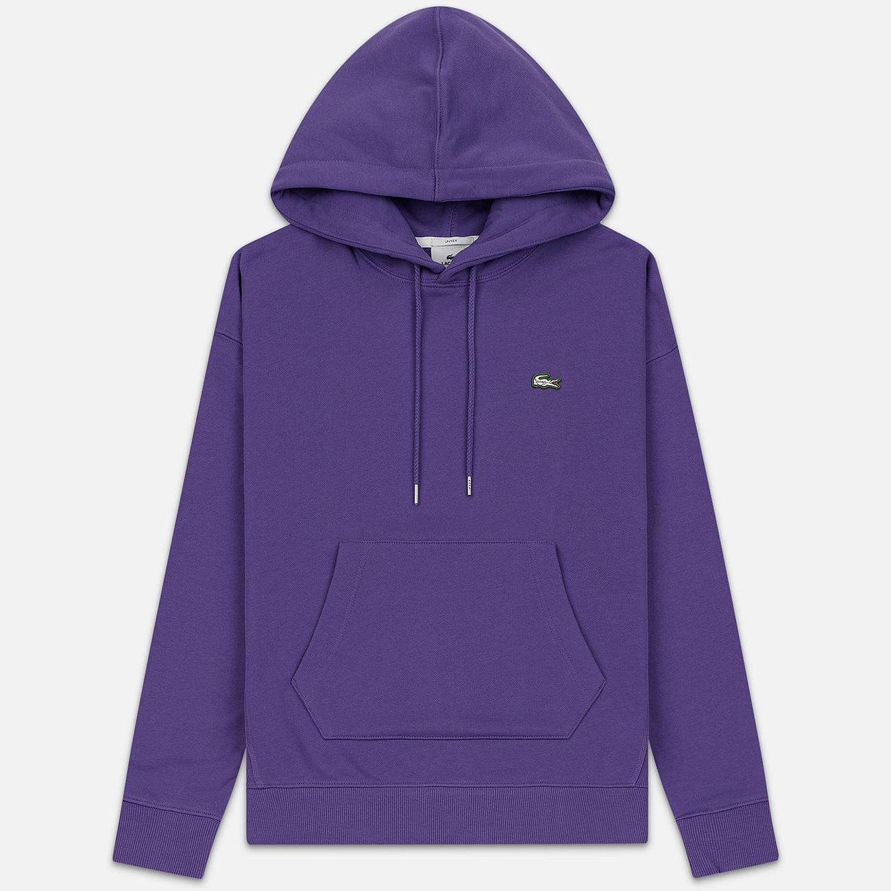 Мужская толстовка Lacoste Live Kangaroo Pocket Hoodie Purple/Purple