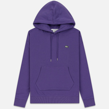 Мужская толстовка Lacoste Live Kangaroo Pocket Hoodie Purple/Purple фото- 0